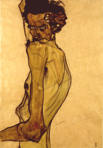 schiele-1-self-portrait